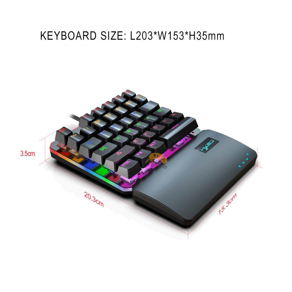 bàn phím cơ red switch V200