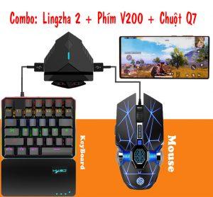 Lingzha 2 combo bo chuyen doi choi game